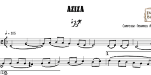 Aziza Music sheet