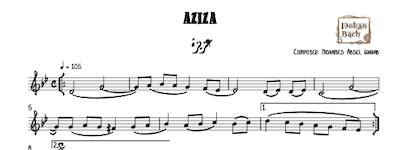 Aziza Music sheet