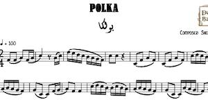 Polka Shehada Saada Music Sheet
