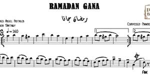 Ramadan Gana Music Sheet