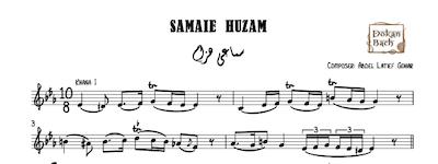 Samaei Huzam Latief Gohar Music Sheet