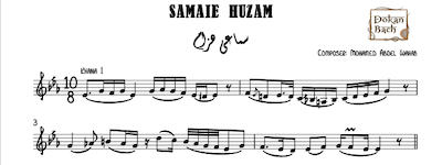 Samaei Huzam Mohamed Abdelwahab Music Sheet