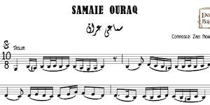 Samaei Ouraq-Zaki Mohamed Agha Music Sheet