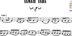 Samaei Saba Music Sheet