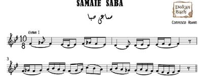 Samaei Saba Music Sheet
