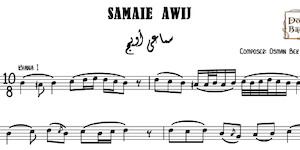 Samaie Awij Music Sheet