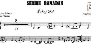 Sebhit Ramadan Music Sheet
