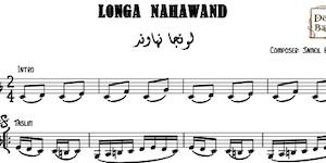 Longa Nahawand-Jameel ElTanboury Music Sheet