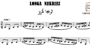 Longa Nekriez Music Sheet