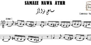 Samaei Nawa Athar-Yousef Pasha Music Sheets