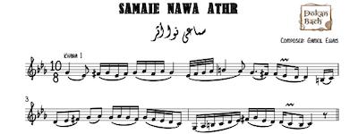 Samaei Nawa Athr Music Sheet