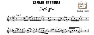 Samaei Shahinaz Music Notes