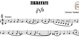 Zikrayaty-Music Sheet