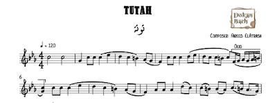 Tutah Farid ElAtrash Music Sheet