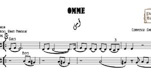 Omy - أمي - نوت موسيقية