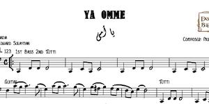 Ya Omy - يا أمي Free Music Sheets