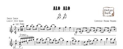 Alo Alo-Free - ألو ألو Music Sheets