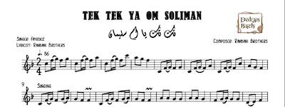 Tek Tek Ya Om Soliman-Free تك تك يا ام سليمان